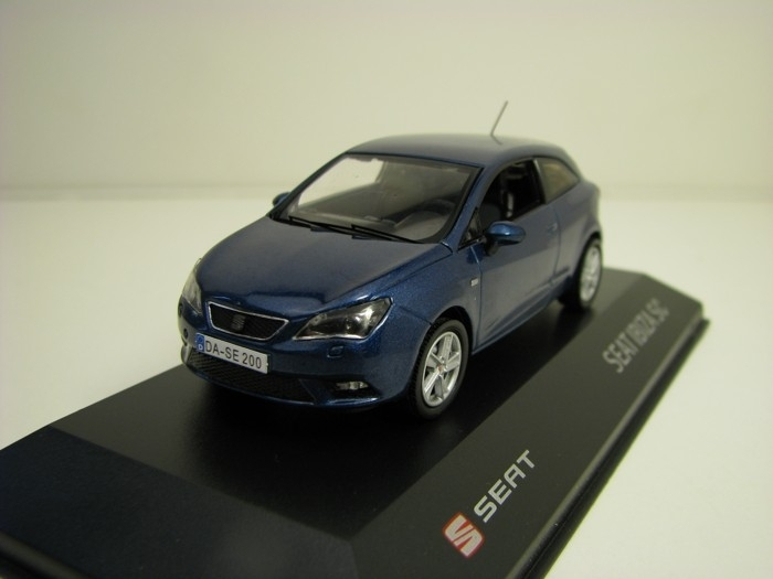 Seat Ibiza SC Blue metallic 1:43 i - Scale